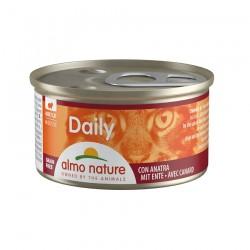 Almo Nature - Daily Mousse au Canard pour Chat - 85 gr