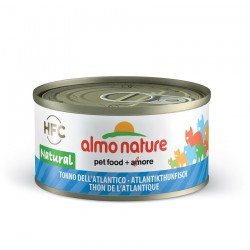 Almo Nature - Pâtée HFC Natural au Thon de l'Atlantique pour Chat - 70 gr