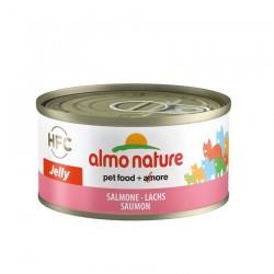 Almo Nature - Pâtée HFC Jelly au Saumon pour Chat - 70 gr