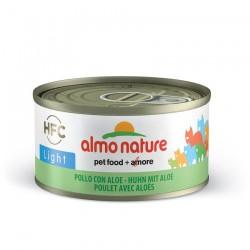 Almo Nature - Pâtée HFC Light au Poulet et Aloé pour Chat - 70 gr