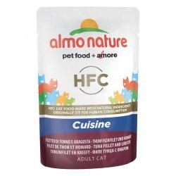 Almo Nature - HFC Sachet de Pâtée Cuisinée au Thon et Homard pour Chat - 55 gr