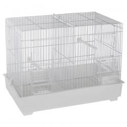 Cage Cova 1 (44 cm) à Double Compartiment - Bac Plastique
