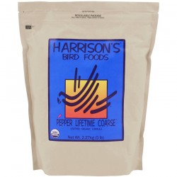 Harrison's - Adult Lifetime Pepper Coarse 2,27 kg - Granulés Compressés Bio pour perroquet