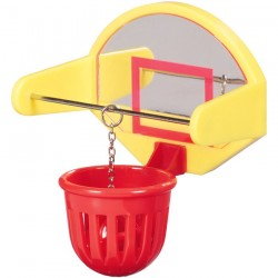 Mini Basket Ball Pad - Jouet Perruche