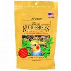 Lafeber - Nutri-Berries Classic 284 gr - Repas Complet pour Petites et Grandes Perruches