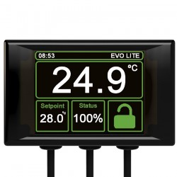 Microclimate - Thermostat EVO OLED EU Black