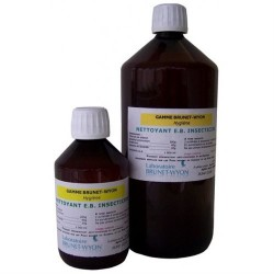 Brunet Wyon - Nettoyant Insecticide E.B. pour Locaux et Surfaces - 1 Litre