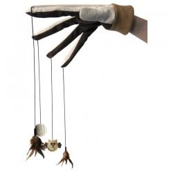 Jouet pour Chat - Gant Interactif avec Jouets - 35 cm