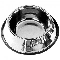 Mangeoire Inox - Gamelle Antidérapante pour Chien - 33 cm