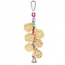Wicker Chain - Jouet Perruche
