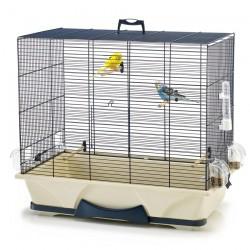 Savic - Cage Oiseaux Primo 50 - Bleu Marine