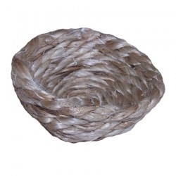 Fond de Nid Jetable en Corde pour Canaris - Ø 10 cm