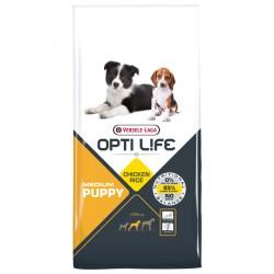 Opti Life - Puppy Medium - 12,5 kg - Croquettes pour Chiots de Races Moyennes - Goût Poulet