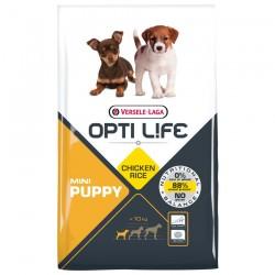 Opti Life - Puppy Mini - 2,5 kg - Croquettes pour Chiots de Petites Races - Goût Poulet