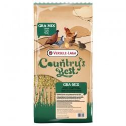 Country's Best GRA-MIX Poussins & Cailles - 4 kg - Mélange de Céréales avec Maïs très Finement Concassé