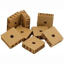 Zoo-Max - Tranches de Carton Epais Alvéolé - Pièce de Jouet - 8 pièces