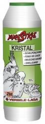 Fond de Cage Kristal Obus - Sable Blanc Anisé avec 15% d'Écailles d'Huîtres - 2 kg