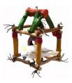 Cube Java Jumbo - Aire de Jeu Suspendue Grand Perroquet