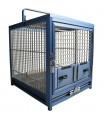 Cage de Transport Perroquet en Aluminium - KING'S CAGES TC01