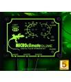 """Thermostat Reptile MICROCLIMATE """"Pulse"""" DL2 ME (Jour/nuit) avec Alarmes"""