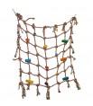 Filet Coton 76 x 76 cm - Diamètre corde 1,9 cm